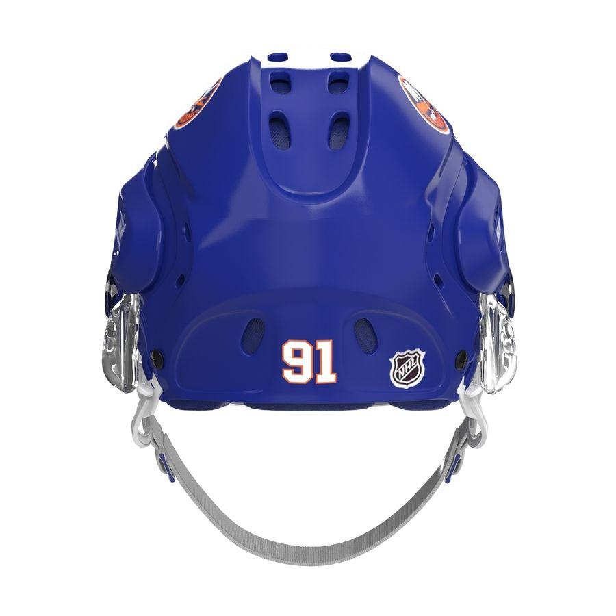 Hockey Helmet Islanders royalty-free 3d model - Preview no. 11