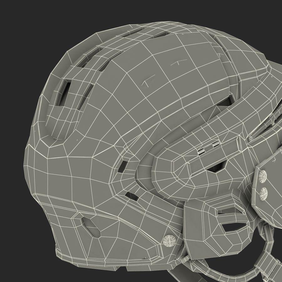 Hockey Helmet Islanders royalty-free 3d model - Preview no. 35