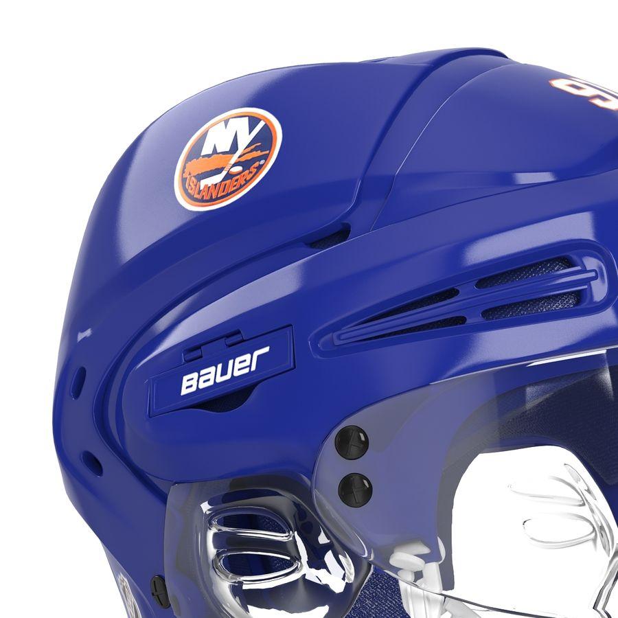 Hockey Helmet Islanders royalty-free 3d model - Preview no. 19