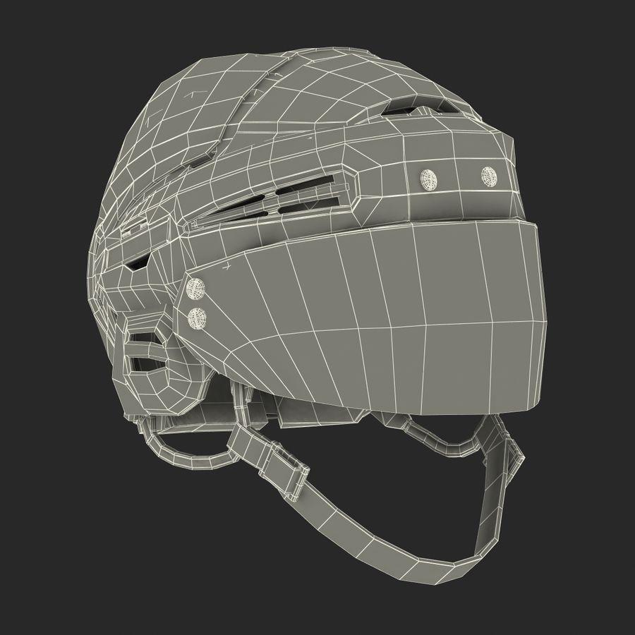 Hockey Helmet Islanders royalty-free 3d model - Preview no. 29