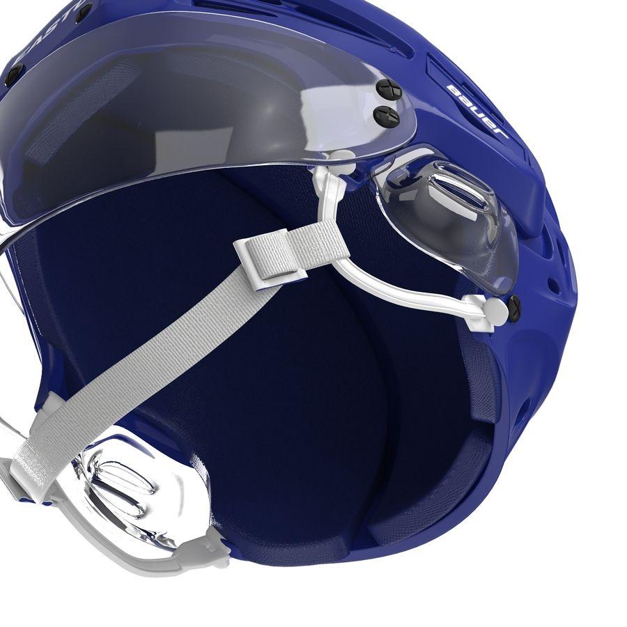 Hockey Helmet Islanders royalty-free 3d model - Preview no. 17