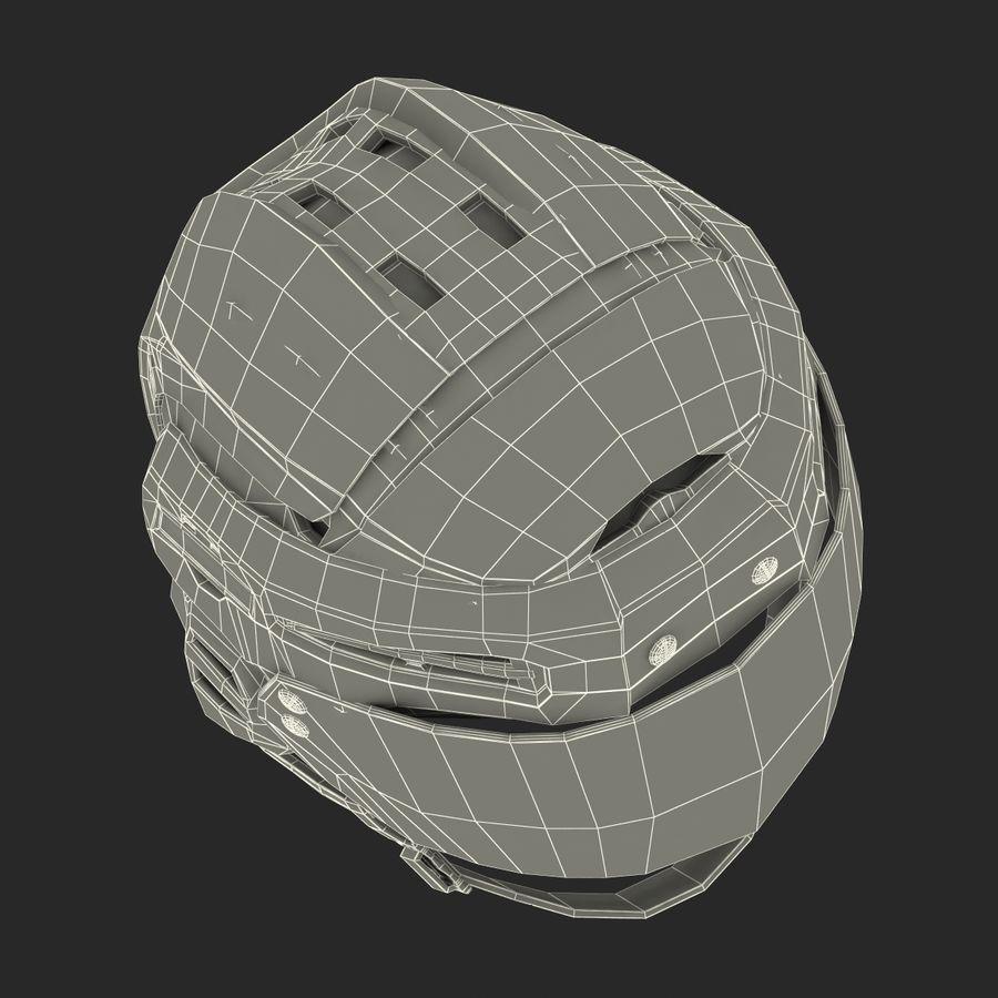 Hockey Helmet Islanders royalty-free 3d model - Preview no. 32