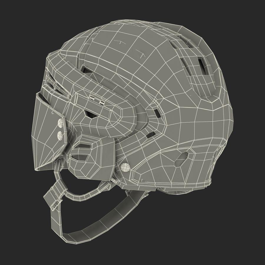 Hockey Helmet Islanders royalty-free 3d model - Preview no. 31