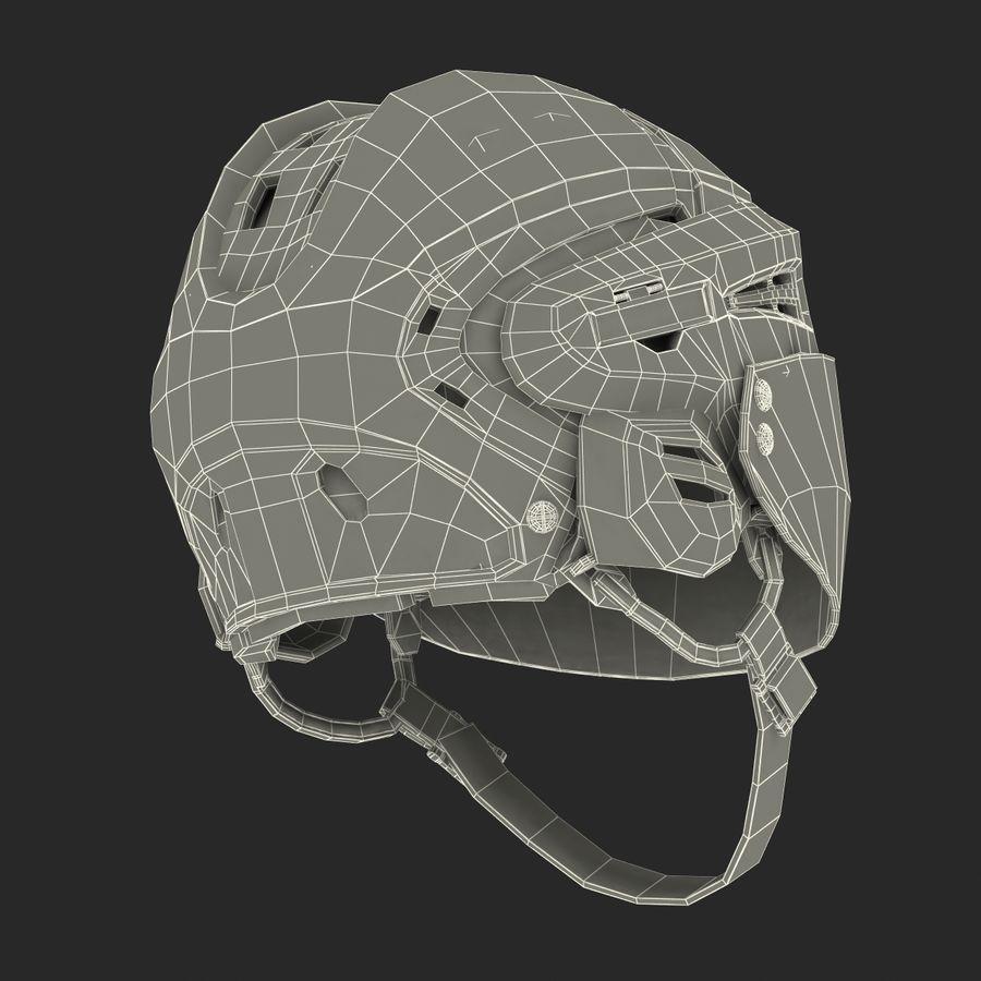 Hockey Helmet Islanders royalty-free 3d model - Preview no. 30