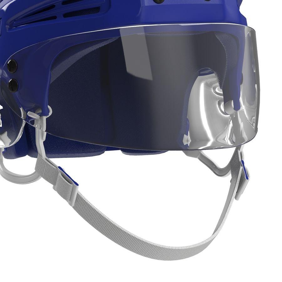Hockey Helmet Islanders royalty-free 3d model - Preview no. 14