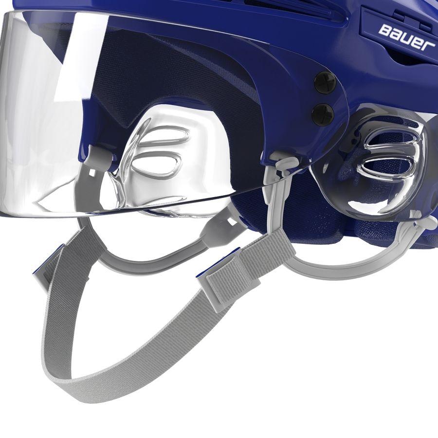 Hockey Helmet Islanders royalty-free 3d model - Preview no. 20