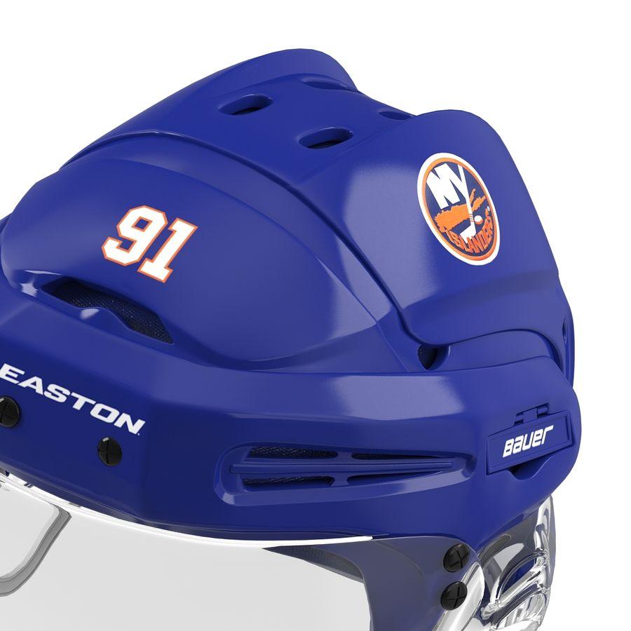 Hockey Helmet Islanders royalty-free 3d model - Preview no. 18