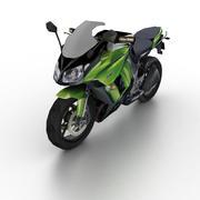 Kawasaki Ninja 1000 2012 3d model