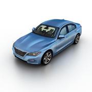 Generic Sedan v.01 3d model