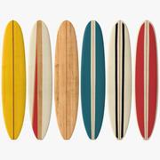 Longboard Surf 3d model