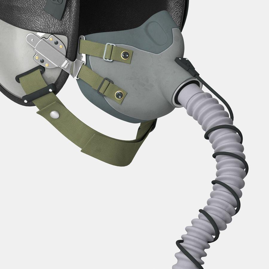 米軍パイロットヘルメット royalty-free 3d model - Preview no. 22