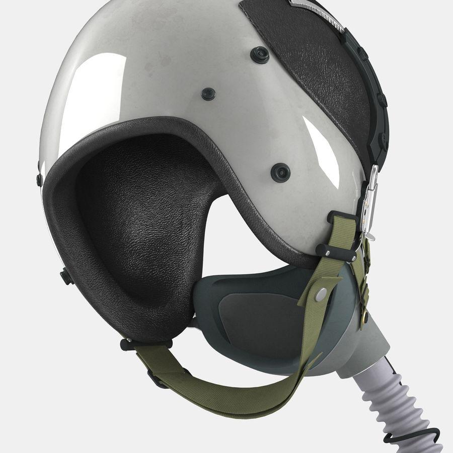 米軍パイロットヘルメット royalty-free 3d model - Preview no. 20