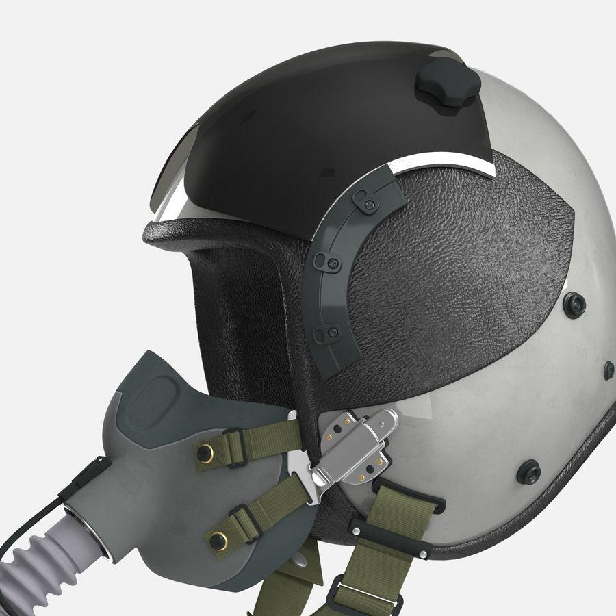 米軍パイロットヘルメット royalty-free 3d model - Preview no. 15