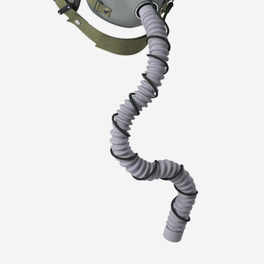 米軍パイロットヘルメット royalty-free 3d model - Preview no. 13
