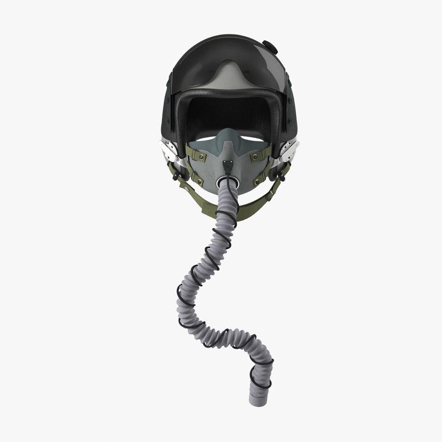 米軍パイロットヘルメット royalty-free 3d model - Preview no. 5
