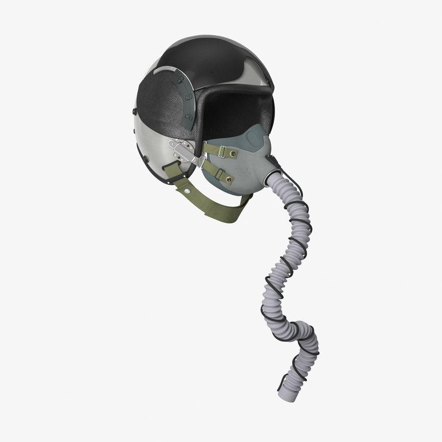 米軍パイロットヘルメット royalty-free 3d model - Preview no. 7