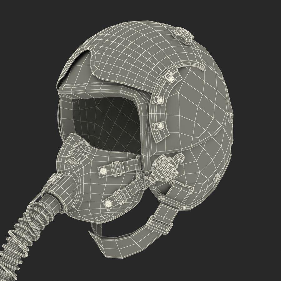 米軍パイロットヘルメット royalty-free 3d model - Preview no. 31