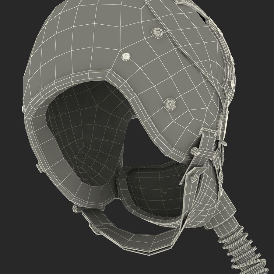 米軍パイロットヘルメット royalty-free 3d model - Preview no. 36
