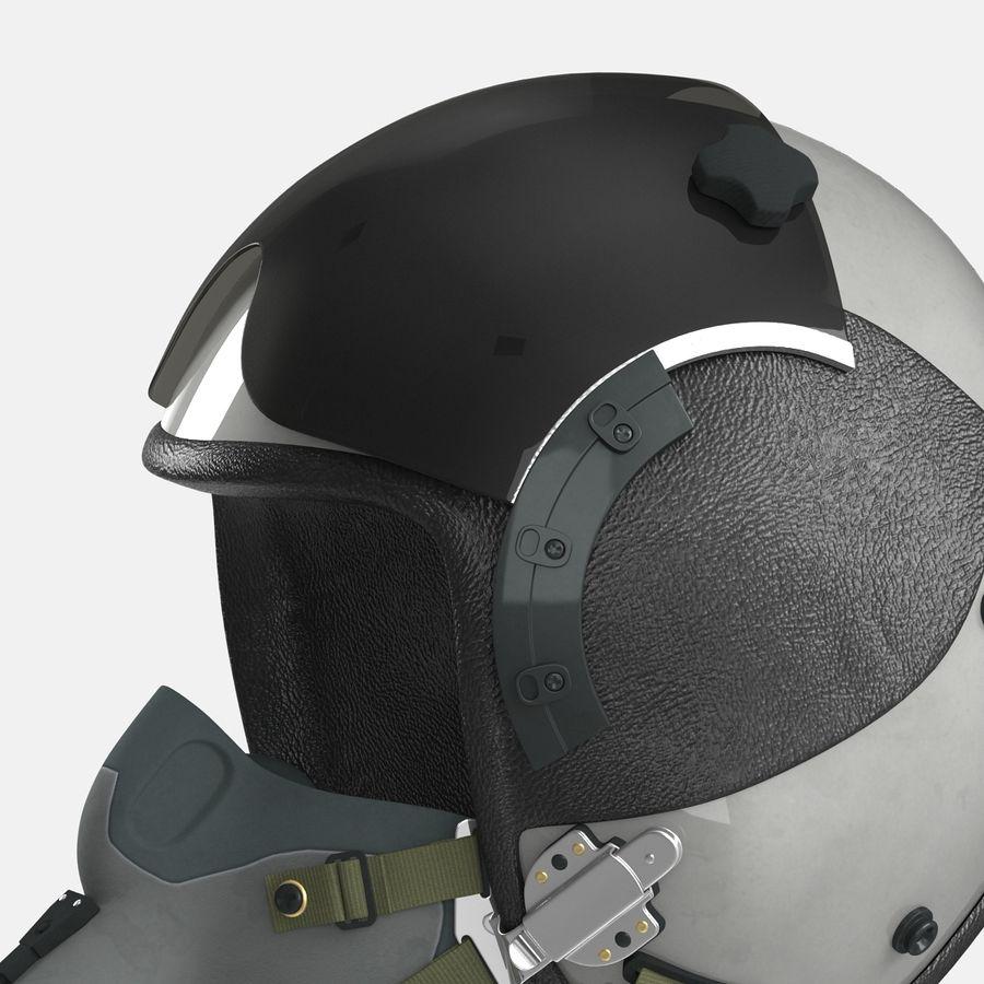 米軍パイロットヘルメット royalty-free 3d model - Preview no. 17