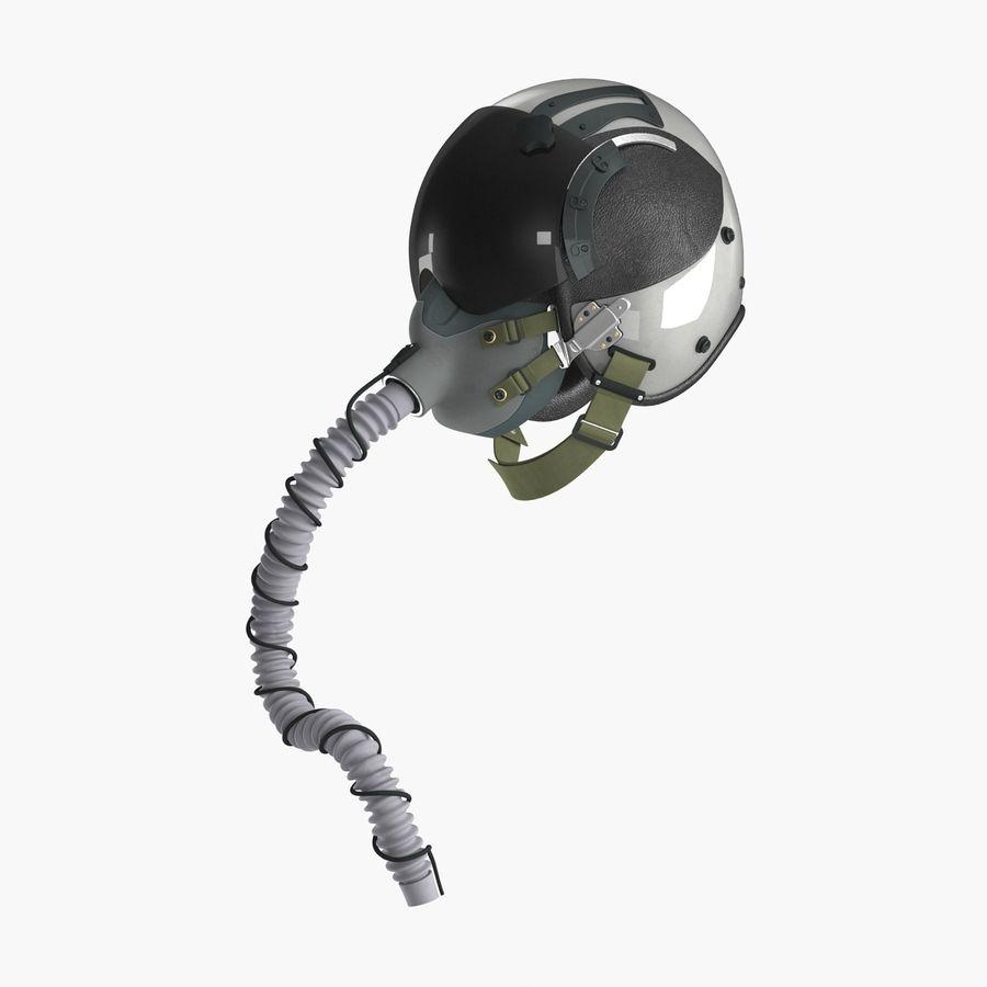 米軍パイロットヘルメット royalty-free 3d model - Preview no. 3