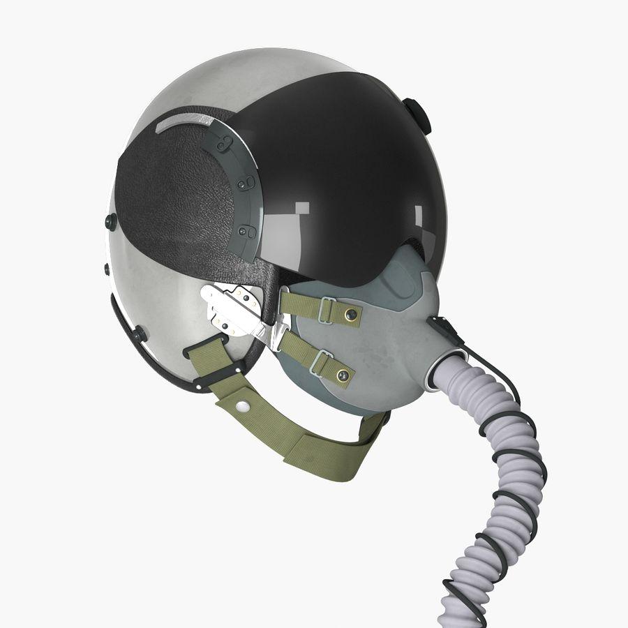 米軍パイロットヘルメット royalty-free 3d model - Preview no. 4