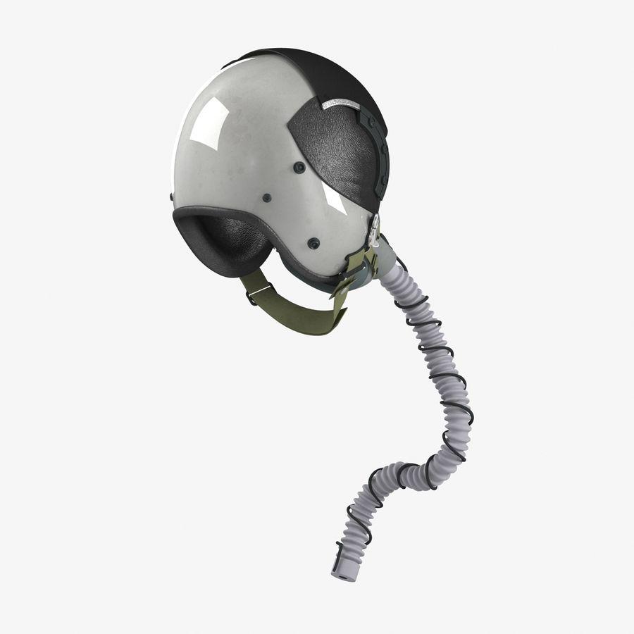 米軍パイロットヘルメット royalty-free 3d model - Preview no. 8