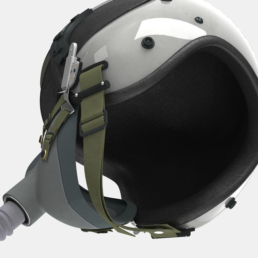 米軍パイロットヘルメット royalty-free 3d model - Preview no. 21