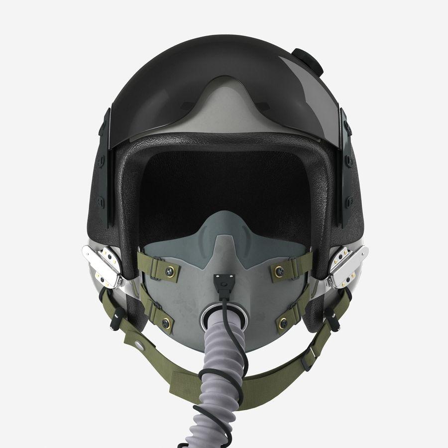 米軍パイロットヘルメット royalty-free 3d model - Preview no. 11