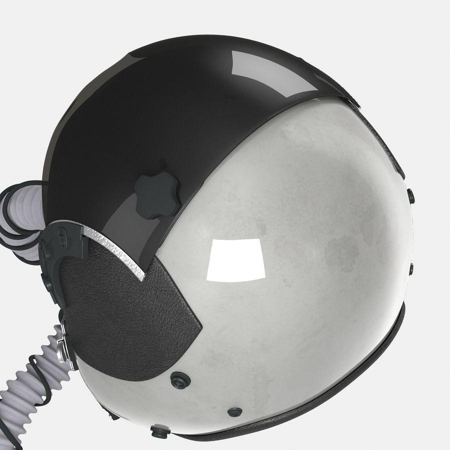 米軍パイロットヘルメット royalty-free 3d model - Preview no. 19