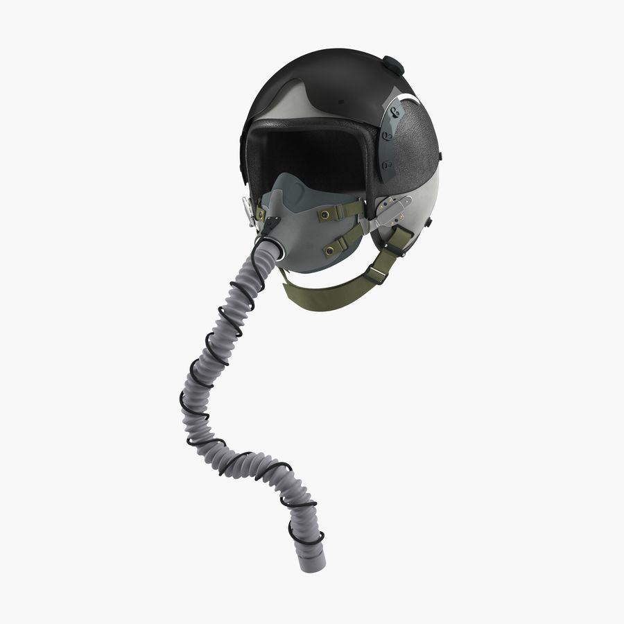 米軍パイロットヘルメット royalty-free 3d model - Preview no. 1