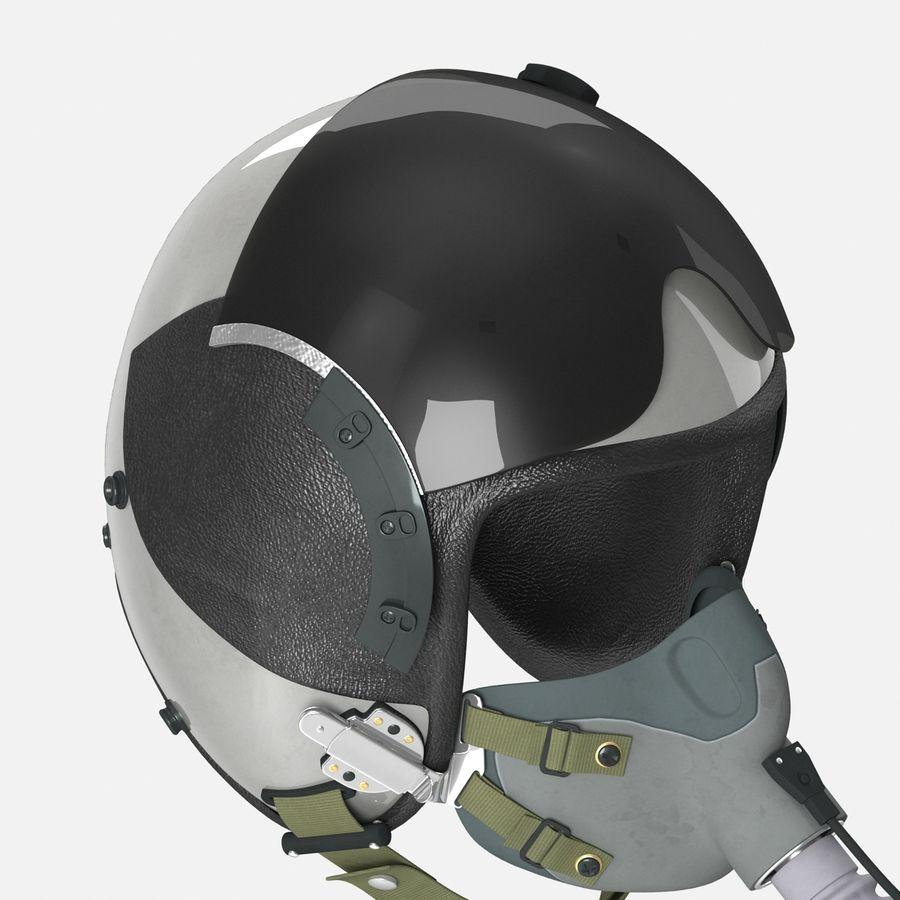 米軍パイロットヘルメット royalty-free 3d model - Preview no. 14