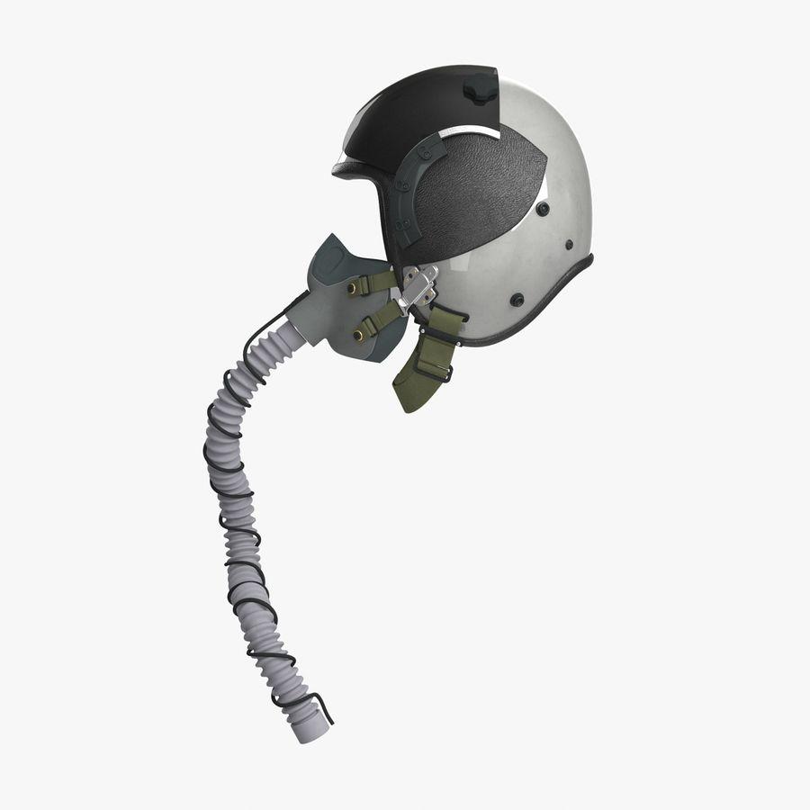 米軍パイロットヘルメット royalty-free 3d model - Preview no. 6