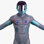 Astronaut-4 3d model