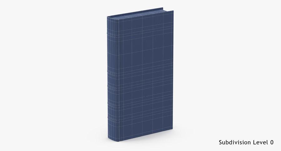 クラシックブック02スタンディング royalty-free 3d model - Preview no. 15