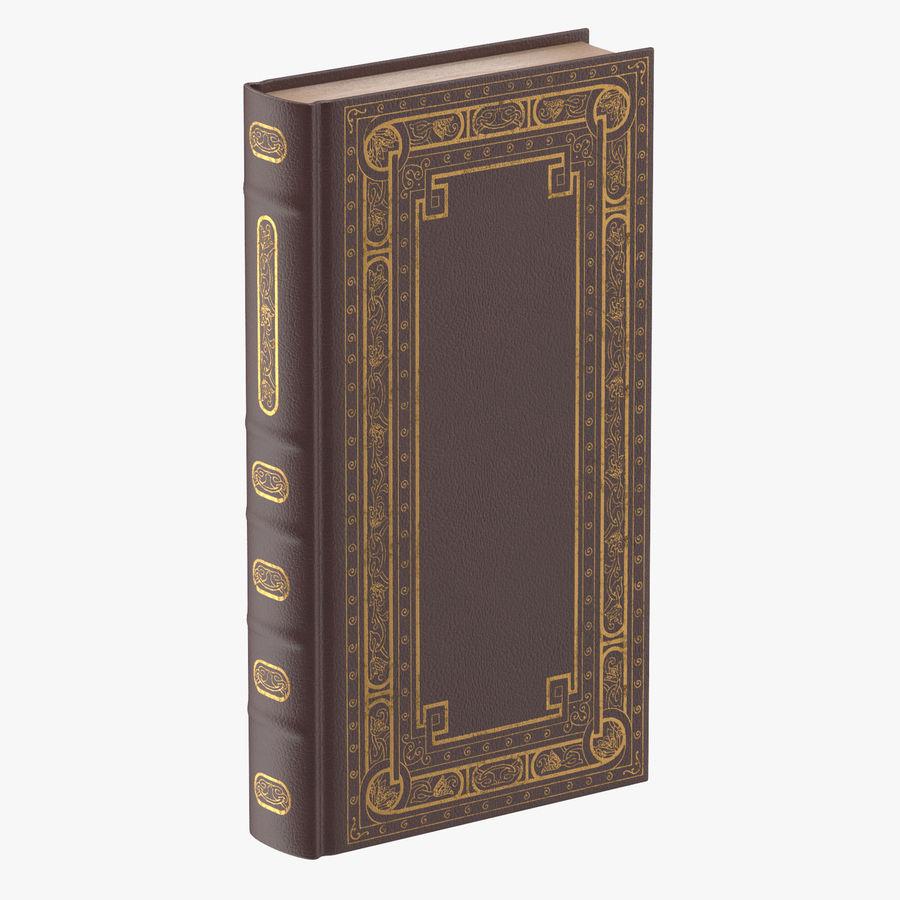 クラシックブック02スタンディング royalty-free 3d model - Preview no. 1