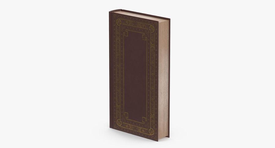 クラシックブック02スタンディング royalty-free 3d model - Preview no. 5