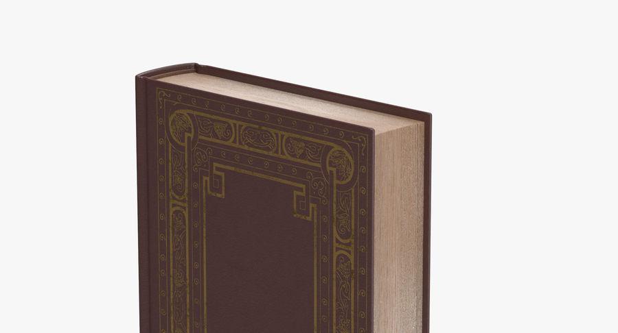 クラシックブック02スタンディング royalty-free 3d model - Preview no. 6