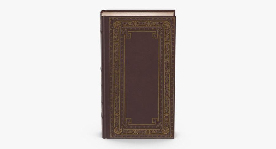 クラシックブック02スタンディング royalty-free 3d model - Preview no. 4