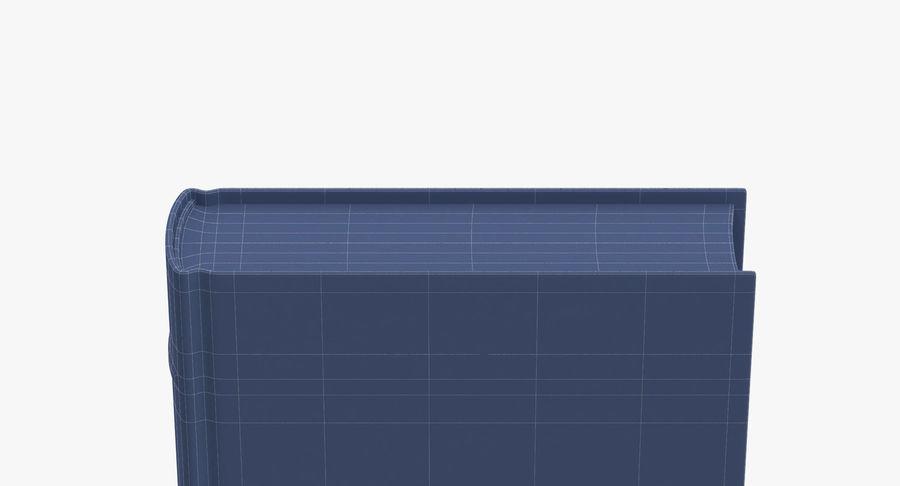 クラシックブック02スタンディング royalty-free 3d model - Preview no. 14