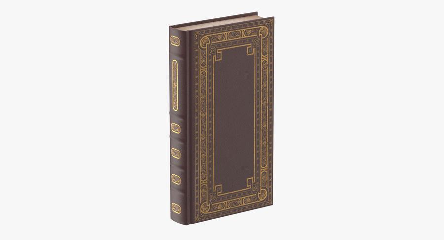 クラシックブック02スタンディング royalty-free 3d model - Preview no. 2