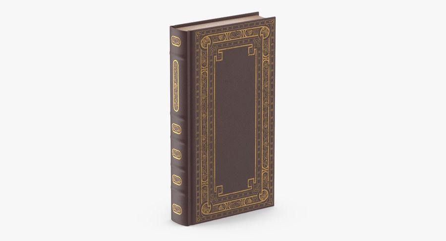 クラシックブック02スタンディング royalty-free 3d model - Preview no. 3