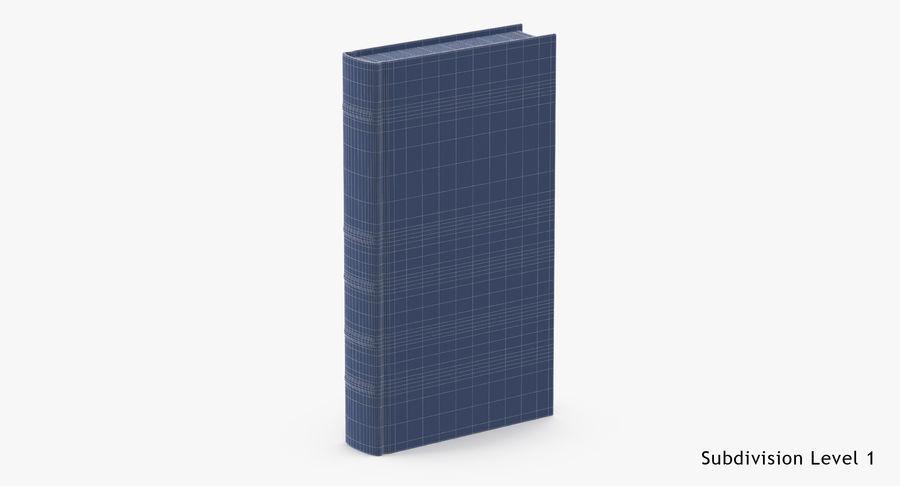 クラシックブック02スタンディング royalty-free 3d model - Preview no. 16