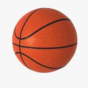 Tamanho adulto de basquete 3d model