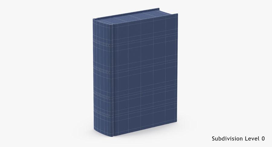 クラシックブック05スタンディング royalty-free 3d model - Preview no. 15