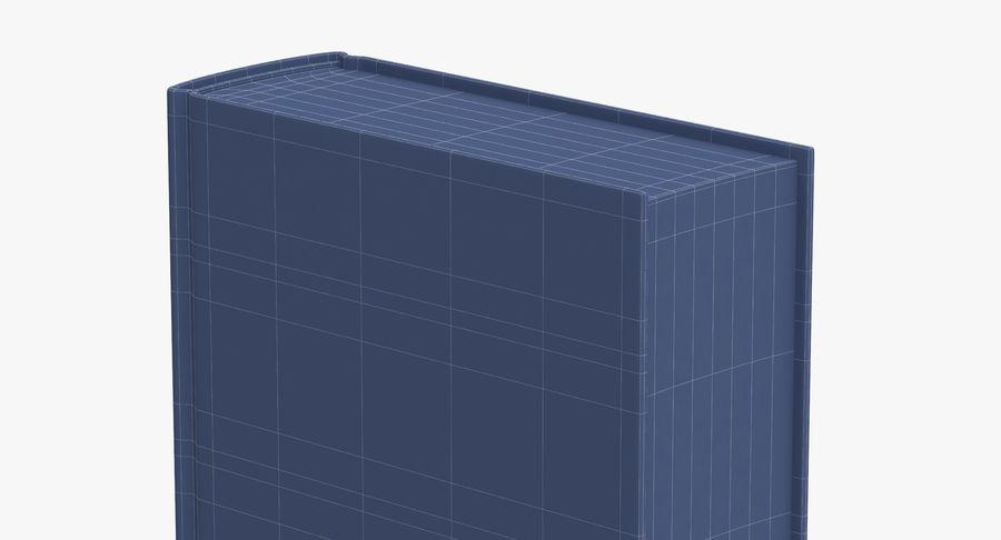 クラシックブック05スタンディング royalty-free 3d model - Preview no. 12