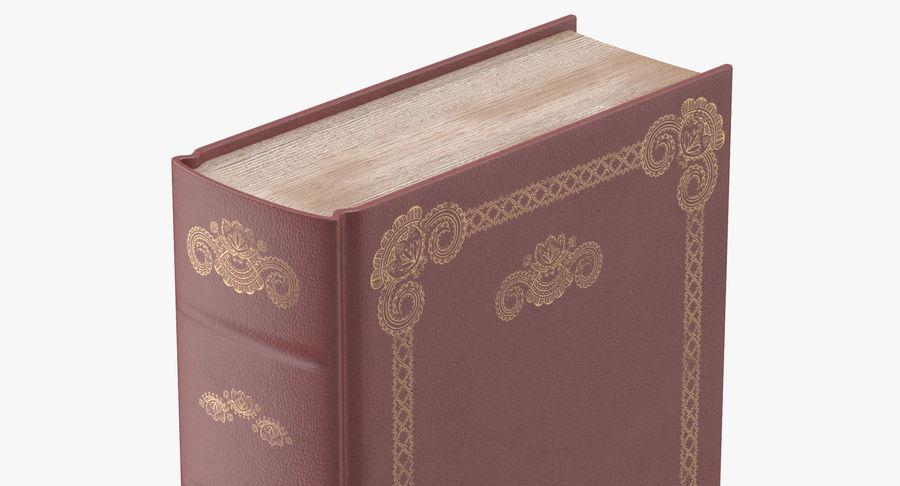 クラシックブック05スタンディング royalty-free 3d model - Preview no. 7