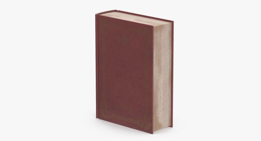 クラシックブック05スタンディング royalty-free 3d model - Preview no. 5