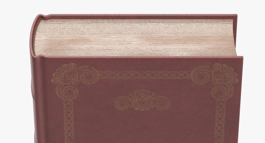 クラシックブック05スタンディング royalty-free 3d model - Preview no. 8