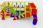 indoor playland theme 3d model
