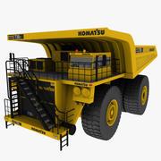 caminhão de mineração komatsu 3d model